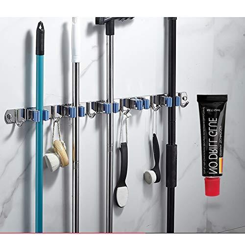 Met 4 legborden 5 haken voor keuken badkamer kast garage kantoortuin,Metallic