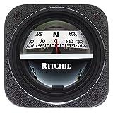 Es - E.S. Ritchie Ritchie V-537W Explorer Compass - Bulkhead Mount - White Dial