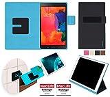 reboon booncover Tablet Hülle | u.a. für tolino tab 8, Xperia Z3 Tablet | schwarz Gr. M2 | Tablet Tasche, Standfunktion, Kfz Tablet Halterung und mehr