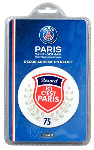 GPS PSG p6127Ici Paris Adhesivo Relieve Blister Papel 8,5x 18x 2,5cm, Multicolor