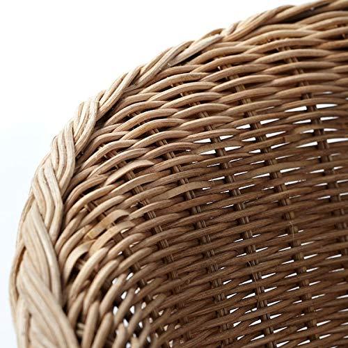 DiscountSeller AGEN krzesło, rattan, bambus, 58 x 56 x 79 cm wytrzymałe i łatwe w pielęgnacji. Fotele rattanowe. Fotele i szezlongi. Sofy i fotele. Meble przyjazne dla środowiska.