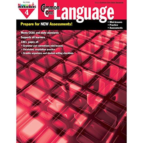 Newmark Learning Grade 4 Common Core Practice Language Book (CC Language)