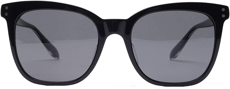 Xiao Mi Guo Ji Sunglasses-resin, nylon polarized lenses, plate frames, laser LOGO printing, men and women trend personality Polarized glasses