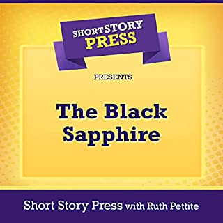 The Black Sapphire audiobook cover art