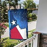 """Texas Flag Idaho Outline Garden Flag 12"""" X 18"""" Gift Home Backyard Garden Flag"""