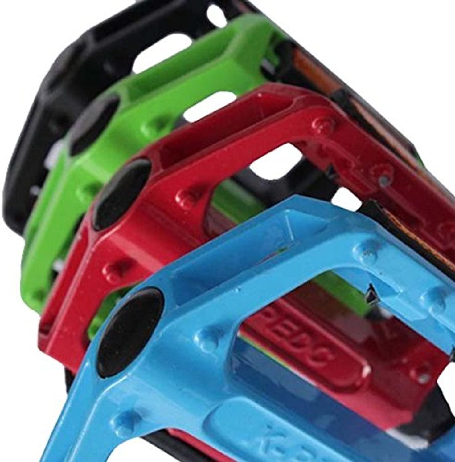 colorized Aluminum Alloy Bicycle Pedals Equiped with Reflectors  Parts & Components  Bike Pedals & Cleats