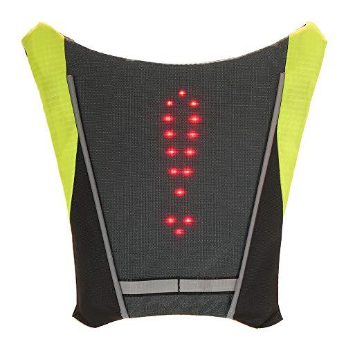 Lixada USB reflecterend vest met LED knipperlicht afstandsbediening voor fietsen hardlopen joggen