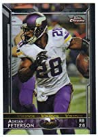 2015 Chrome #24 Adrian Peterson Vikings Football