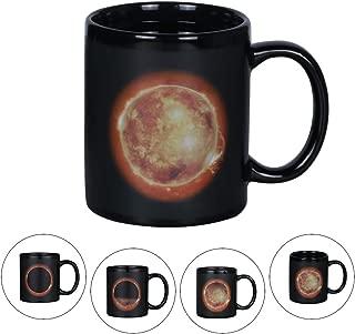 Asmwo Heat Sensitive Color Changing Magic Sunshine Mug Ceramic Coffee Tea Mugs for Women Mom Grandma 12oz