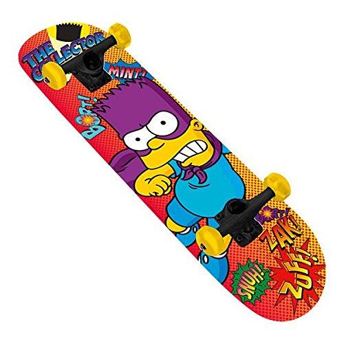 Skateboard Erste Lernen Bart Simpson