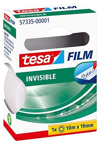 Tesa film matt-unsichtbar, 10m:19mm, 1 Rolle in der Hängefaltschachtel