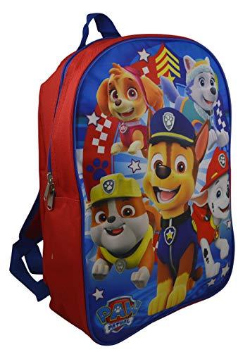 Nickelodeon Paw Patrol 15' School Bag Backpack (Blue)