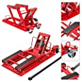 BIG RED T64017 Torin Hydraulic Powersports Lift Jack (Motorcycle, ATV, UTV, Snowmobile): 3/4 Ton (1,500 lb) Capacity, Red