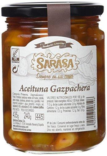 Sarasa Aceituna Gazpacha - Paquete de 12 x 680 gr - Total: 8160 gr
