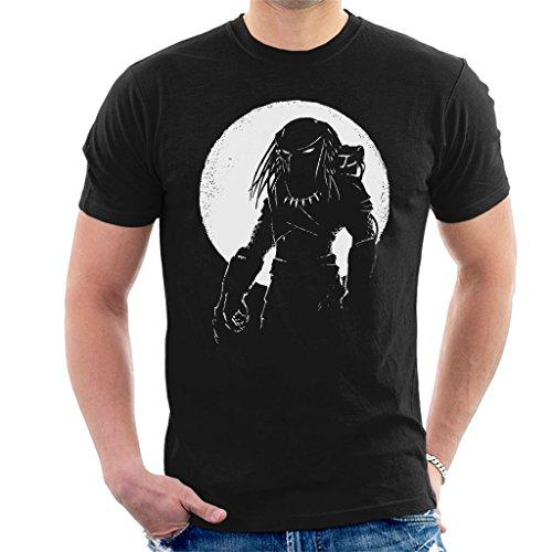 Hunter Predator Moon Scape Men's T-Shirt