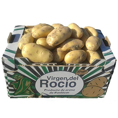 Patata Agria de Sanlucar 10KG, Especial para papas fritas, Producto Gourmet