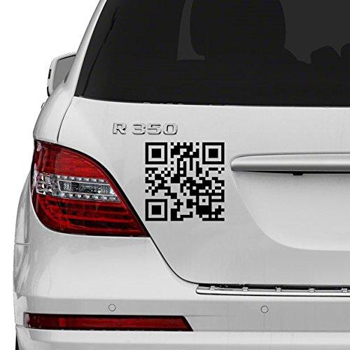 (100 x 100 cm) personaliseerbaar met QR-code van vinyl, snelle respons, barcode, zelfklevend, kunstdecoratie/stickers voor ultrasone fotografie.