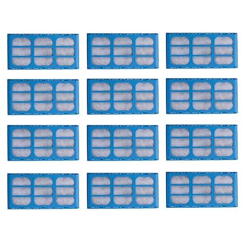 Rediboom Paquete de 12 cartuchos de filtro de repuesto para gatos y perros mate de mascotas, filtro de purificación de agua