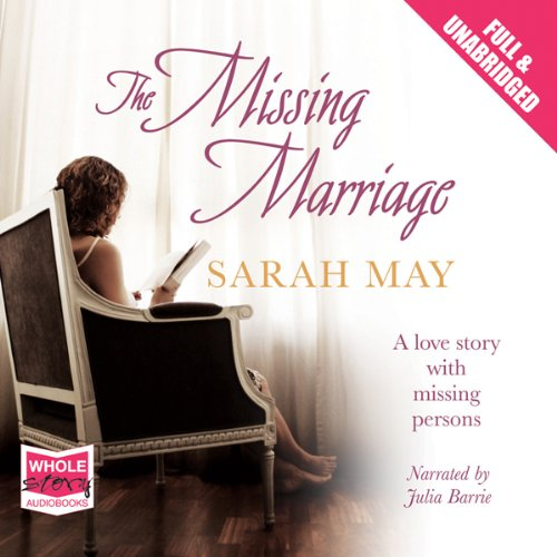 The Missing Marriage audiobook cover art