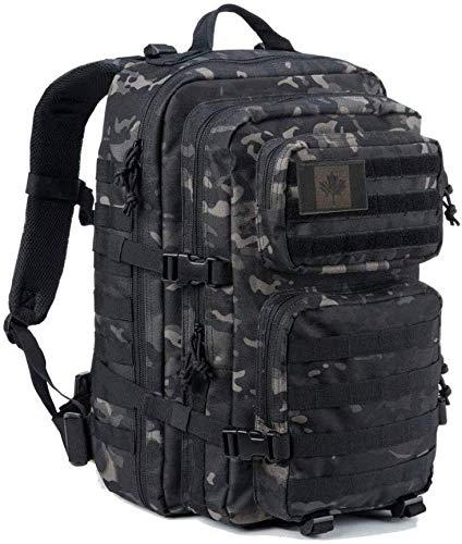 Coolton Sac à dos tactique militaire Molle pour randonnée, camping, chasse
