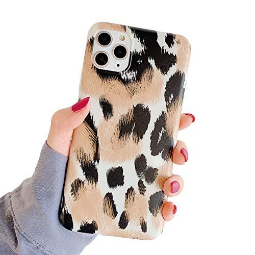 Oihxse Mode Nouveau Marbre Case Compatible pour iPhone Se 2020/iPhone 7/iPhone 8 Coque Motif Artistique Brillant Fleur Protection Housse Glitter Silicone Ultra-Mince Etui Anti-Scrach Bumper-Jaune