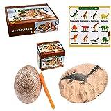 Vkarh Dinosaur Egg Excavation Kit, Adventure Dig-up Dinosure Eggs Find 12 Dinosaur Eggs, Kids' Gift
