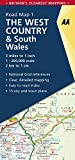 AA Road Map West Country & Wales...