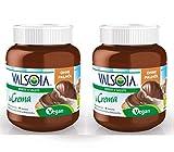Valsoia la Crema | La Crema De La Crema Vegana 2x400g | Crema de Avellana |