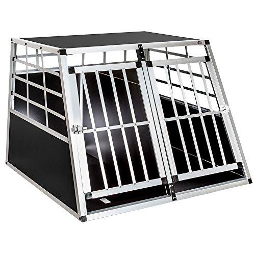 TecTake Box per trasporto cane - disponibili in diverse misure - (97x90x69,5cm | no. 400652)