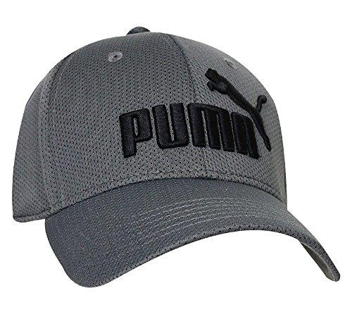 Preisvergleich Produktbild PUMA Herren Stretch Fit Baseball Cap,  Mittelgrau