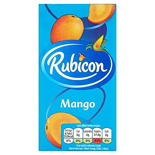 Rubicon Mango Saft - 288ml x 3 - 3-er Pack