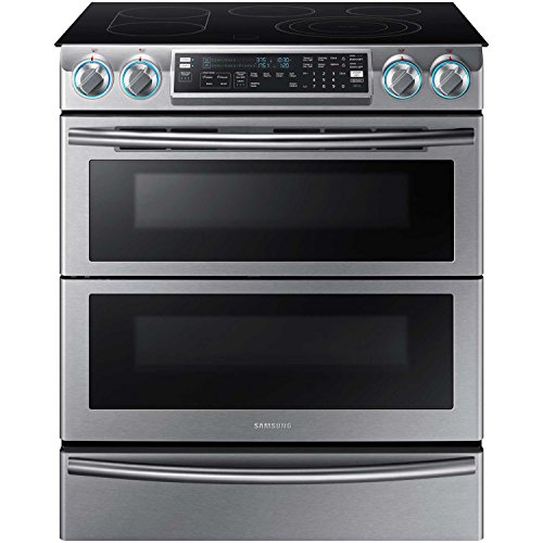 NE58K9850WS Slide-in Electric Range with Smoothtop Cooktop, in Stainless Steel