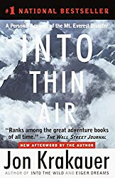 Into Thin Air // A list of 12 of the best adventure books and inspiring books about the outdoors for anyone who wants a little more adventure in their everyday life.