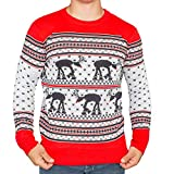 Star Wars at-at Reindeer Ugly Christmas Sweater (Adult Large)