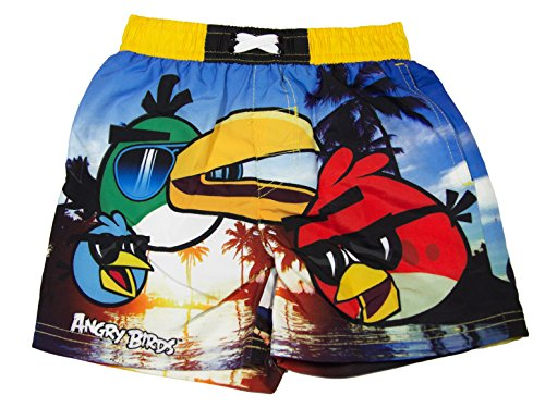 Angry Birds Official Costume a Pantaloncino, da Bambina, età 4,6,8,10 Anni Giallo 10 Anni