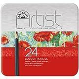 Fantasia Premium Artist Colored Pencils, Set of 24