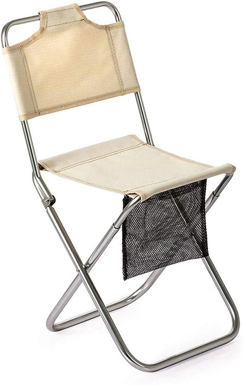 Camping Chair DualPurpose Chair Outdoor Folding Chair Small Mazar Aluminum Portable Fishing Chair Beach Bench Picnic Camping Sketch chai(Bearing Capacity  About 80 kg) Folding Chair
