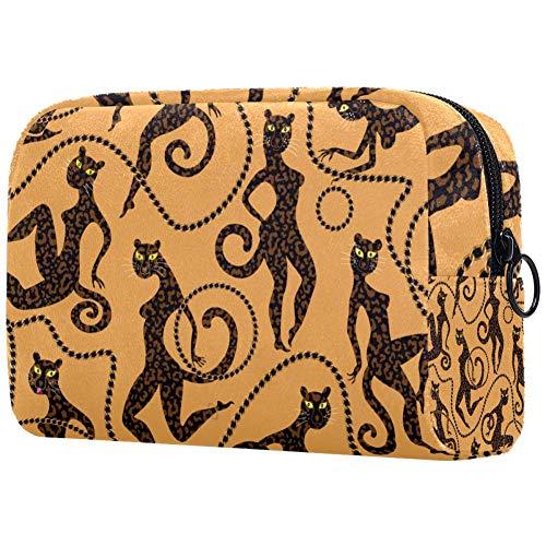 Gouden Sieraden Kettingen RingsSmall Make-up Tas voor portemonnee Reizen Make-up Pouch Mini Cosmetische Tas voor Vrouwen