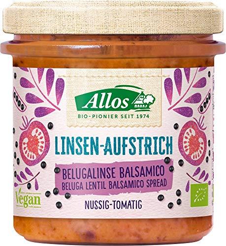 Allos Brotaufstrich mit Belugalinsen & Balsamico (140 g) - Bio