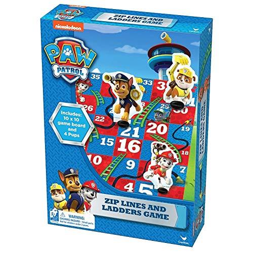 Paw Patrol 6033160 - Sea Patrol Zip Lines and Ladders Brettspiel