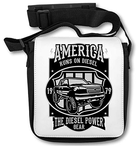 Runs On Diesel America The Diesel Power Gear schoudertas