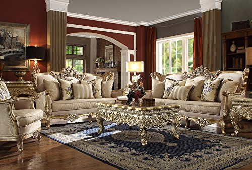Inland Empire Furniture Josee Formal Sofa, Love Seat and Chair Set