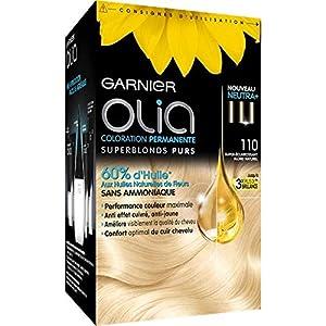 Garnier - Olia Colorante Del Pelo Rubio # 110 Súper Superlight - Lot De 2 - Precio Por Lote - Entrega Rápida