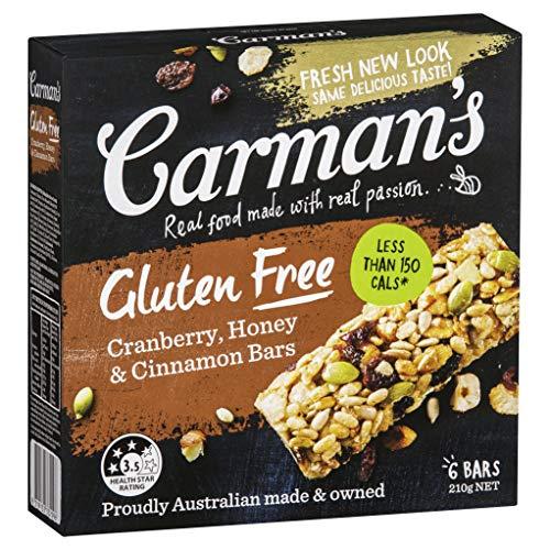 Carman's(カーマンズ) デラックスグルテンフリー ミューズリーバー35gx6本入