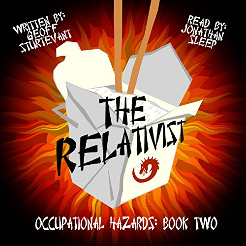 The Relativist audiobook cover art