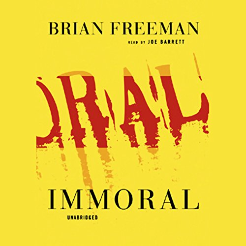 Immoral audiobook cover art