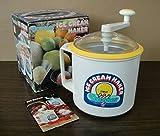 Donvier Chillfast Ice Cream Maker 2 Pint No Salt No Electricity Needed Yellow Trim