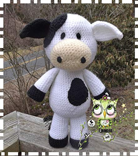 Patrón Amigurumi de Vaca Bainne patrón en PDF de Vaca a | Etsy | 500x443