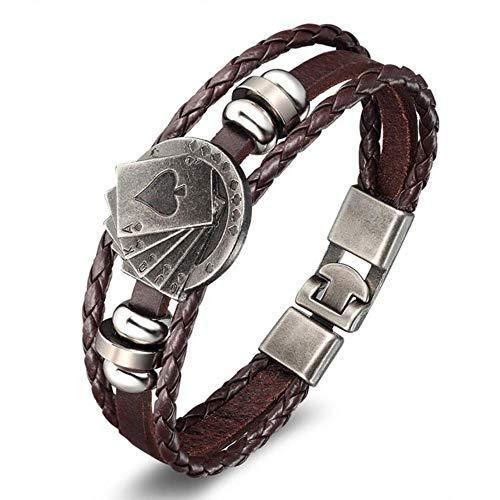 ASIG Fashion Anker Armband Stingray Lederen Armband voor Mannen Vrouwen Vrienden