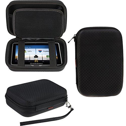 Navitech Schwarz Premium Travel Hard Tragetasche Cover fur die Rand McNally TND 540 GPS